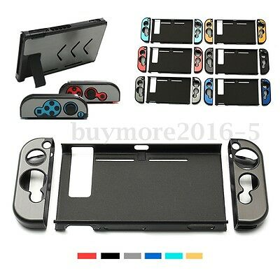 Anti-slip Aluminum Shell Protective Case Cover Skin For Nintendo Switch Console