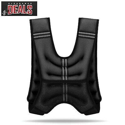 10kg Weighted Vest Home Gym Running Fitness Weight loss Strength Jacket