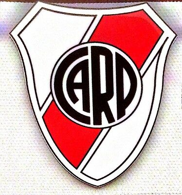 RIVER PLATE Iron On Crest Souvenir Football Badge Patch