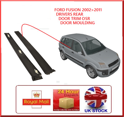 Ford Fusion 2001-2013 OSR Drivers Side Rear Door Trim Panel 1473669 Moulding
