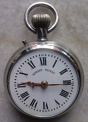 Roskopf Patent Railway Regulator Winding Pocket watch Lever Swiss Made Porcelain