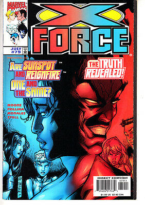 X-Force    Nº   76. 77 .78. 79. .  ( 4   Numeros )  Lote.  ·marvel En Ingles.