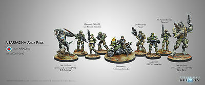 Infinity the Game USAriadna Army Pack Corvus Belli Ariadna