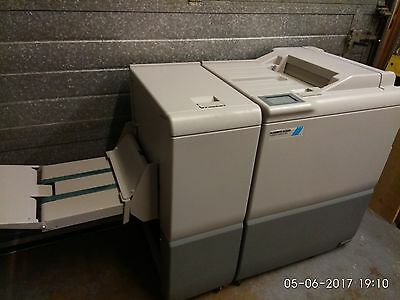 2015 Plockmatic Bk 5030 A3 Bookletmaker With Plockmatic Bk 5030 Trimmer