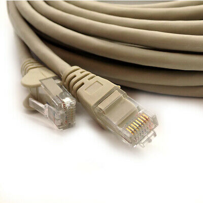 RJ45 CAT6 Network LAN Cable Gigabit Ethernet Fast Patch Lead 1m to 50m Wholesale