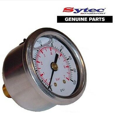 Sytec Fuel Pressure Gauge 1/8npt - FSE Power Boost Valves MSV SAR Regulators