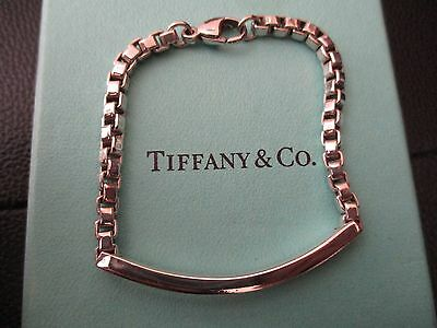 100% Genuine Tiffany & Co T&Co bracelet-sterling silver