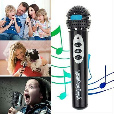 Children Girls Boys Microphone Mic Karaoke Singing Kids Funny Music Toy Gifts B,