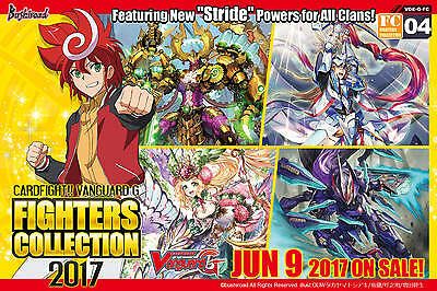 CardFight Vanguard G TCG - Fighters Collection 2017 Pack x 10