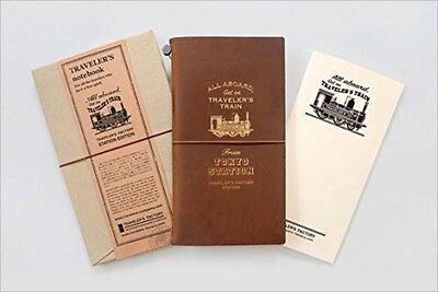 Travelers Factory STATION EDITION Traveler's Note Book Tokyo Station Limited NEW