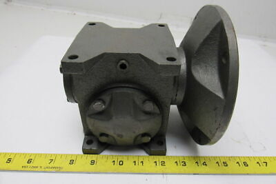 Baldor STF-135-15-A-A 15:1 Ratio 0.46hp Worm Gear Box Speed Reducer 56C