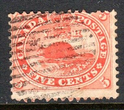 CANADASG 3118595c Beaver Pale Red P.12Used