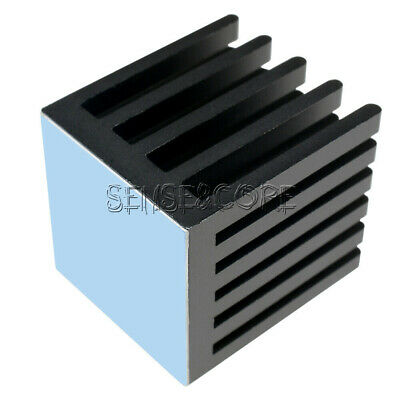 IC Heat Sink Aluminum 22X22X25MM 22*22*25MM Cooling Fin 3M8810 ADHESIVE