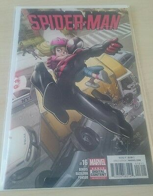 SPIDER-MAN  #16  NEW cover A first print (BAGGED & BOARDED)