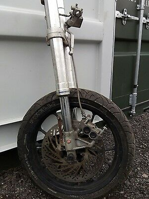 Gilera 125 sc Front forks complete with top and bottom yokes