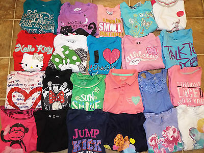 99 Pieces Girls size 6 6X lot Tops Pants dresses shorts skirts