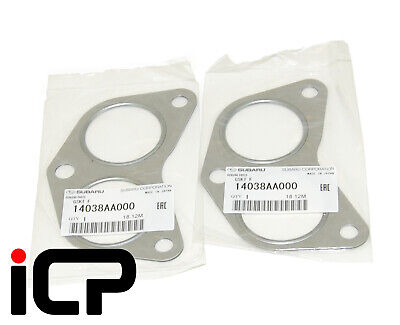 Genuine Exhaust Manifold Gaskets Fits: Subaru Impreza 92-15 Turbo WRX STi RA P1