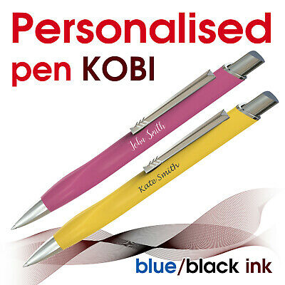 Promotional personalised pen *XENO* blue/ black ink * school leavers