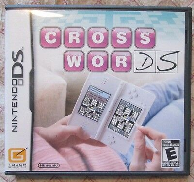 Nintendo DS CrossworDS (Manual, box and game)