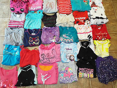 106 pieces Girls size 4 5 lot Mixed items dresses pants tops shorts