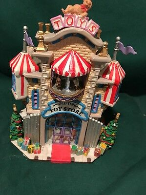 Lemax   Christmas Village Old Time Toy Store Number 11 In Collection