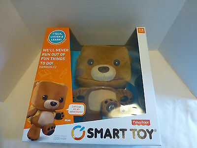 Fisher Price Smart Bear NEW Educational Interactive Child Learning Development