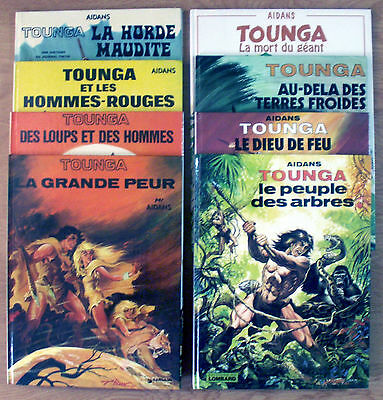 Aydan - Lot 8 Bd Tounga En Eo Collection Cartonnee Tome 1,2,3,4,5,7,10&16  Ttbe