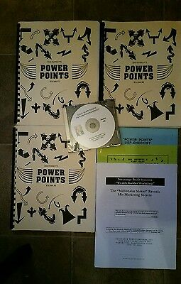 Dan Kennedy Power Points HUGE Course Rare Product Free Priority Shipping