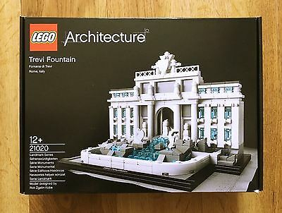 Lego Architecture 21020 TREVI FOUNTAIN, Brand New & Sealed, Retired Set