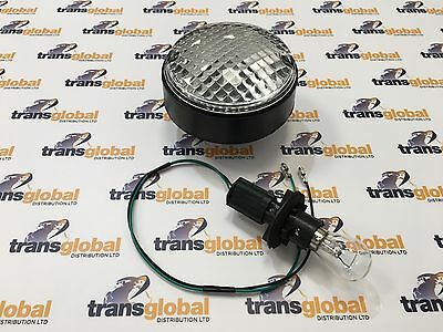 Land Rover Defender NAS Upgrade Round Reverse Light Lamp, Bulb & Lead - AMR3507