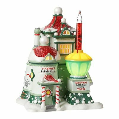 Dept 56 North Pole ~    Pip & Pop's Bubble Works           *** New ***