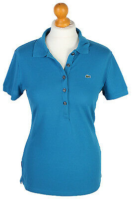 Lacoste Women's L1212 Polo Shirt Retro Geniune Classic Fit  - Blue M - PT0724