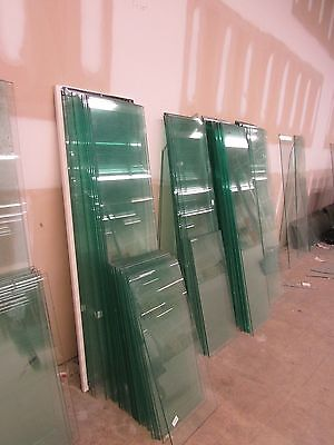 "Lot of 30  Store Fixture Supplies GLASS SHELVES  14""x60"""