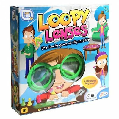 Loopy Lenses Silly Scribblers Kids Childrens Family Fun Board Game Toys