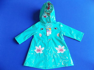 Impermeable 18 Mois Dpam  Turquoise Reine Grenouille Neuf