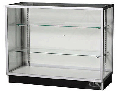 "48"" Extra Vision Showcase Display Case Store Fixture Knocked Down #KD4G"