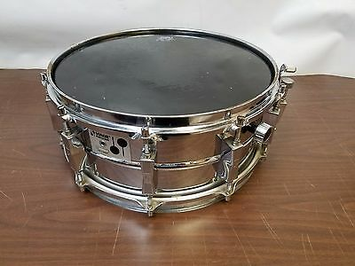 "Vintage Sonor Champion D505 1975 14"" x 5 3/4"" Snare Drum W/Stand"