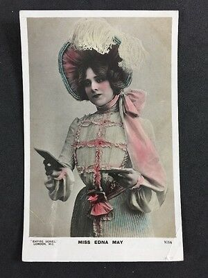 Vintage RPPC: Actress: #A178: Miss Edna May