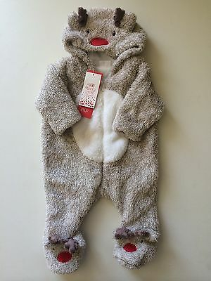 *Baby Clothes/boys Newborn Christmas All In One *Save & Combine Postage)