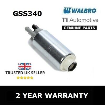 Genuine Walbro 255 Lph Fuel Pump - Gss340 (High Pressure) - 2 Year Warranty