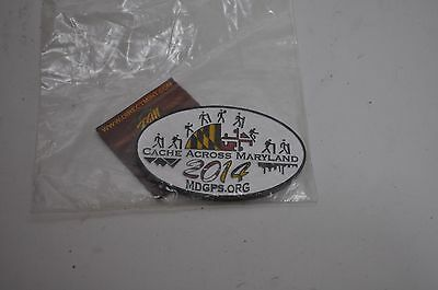 2014 Cache Across Maryland Geocoin New Unactivated Geocoin New