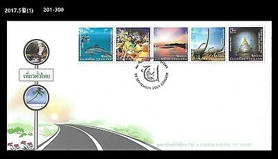 AAA,Dinosaur,Reptile,Prehistory,Thematic,Nature,Whale,Thailand 2004 FDC,Cover