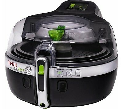 Tefal YV960140 ActiFry 2-in-1 Low Fat Healthy Fryer, 1.5 kg - Black