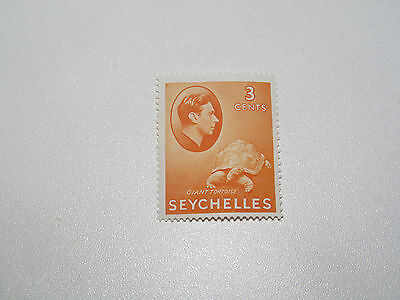 Timbre Poste Neuf Stamp TTB Seychelles Giant Tortoise 3c