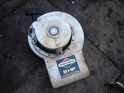 Briggs And Stratton 8Hp Stationary Engine. Recoil Starter