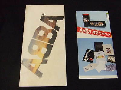 1979 Vintage ABBA Promo book Japan item collection photo
