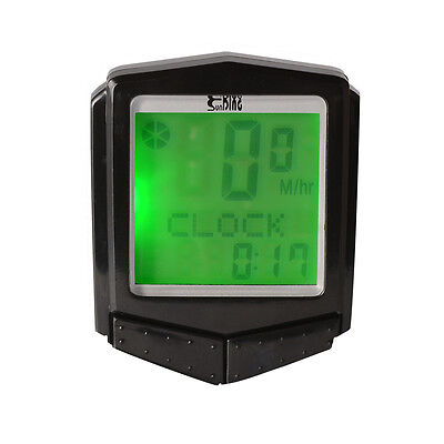 SUNDING Wireless Bicycle Cycling Computer LCD Bike Speedometer Odometer CS495