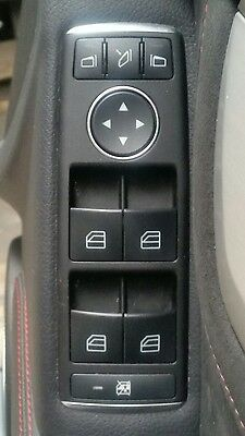 GENUINE!!For Mercedes C-Class W204 Front Driver Side Window Control Switch