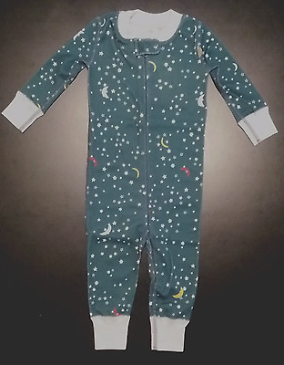 NWT Hanna Andersson Unisex Pajama Size 70 (9-12 mos) New  100% Cotton