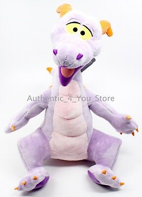 "NEW Walt Disney World Parks Figment Plush 15"" Epcot Mascot Dreamfinder Dragon"